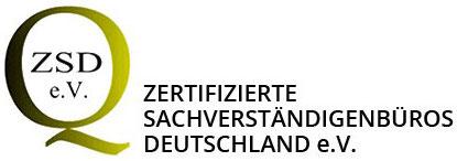 Zertifizierte Sachverständige ZSD e.V Deutschland